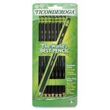 Ticonderoga No 2 Pencils Graphite Lead