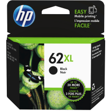 HP 62XL High Yield Black Original