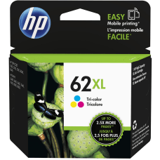 HP 62XL High Yield Tricolor Original