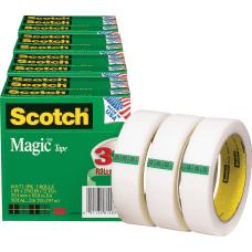 Scotch Magic Tape 72 yd Length