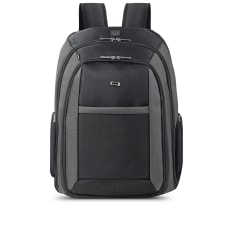 Solo CheckFastLaptop Backpack Black