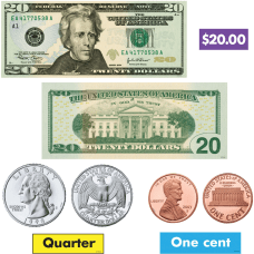 Trend US Money Bulletin Board Set