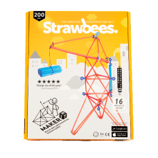 Strawbees 200 Piece Maker Kits Case