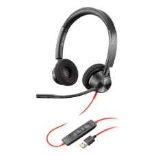Plantronics Blackwire 3300 Series Corded UC