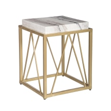 Coast To Coast Marble Accent Table