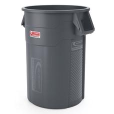 Suncast Commercial Oval HDPE Utility Trash