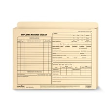 ComplyRight Letter Size Expandable Employee Record