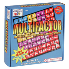 Learning Advantage Multifactor Game Grades 5