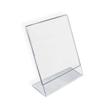 Azar Displays Acrylic L Shaped Sign