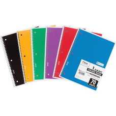 Mead Spiral Notebook 8 x 10