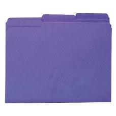 Smead Interior Folders Letter Size Purple