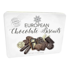 Original Gourmet European Cookies With Tin