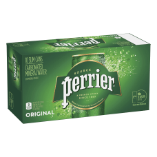 Perrier Sparkling Mineral Water 845 Oz