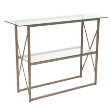 Flash Furniture Glass Console Table 32