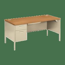 HON Metro Classic Left Pedestal Desk