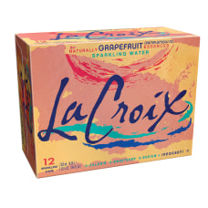 LaCroix Core Sparkling Water with Natural