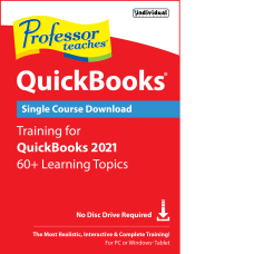 Individual Software Professor Teaches QuickBooks 2021