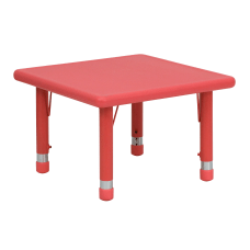 Flash Furniture 24 Square Plastic Height
