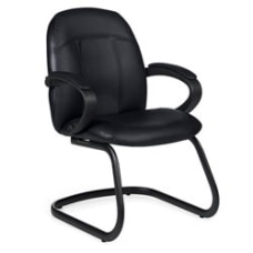 Global Tamiri Bonded Leather Guest Chair