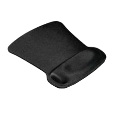 Allsop Ergoprene Gel Mouse Pad Black
