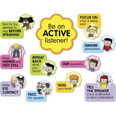 Scholastic K 5 Active Listening Board
