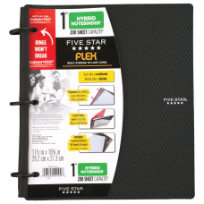 Five Star Flex Hybrid NoteBinder With