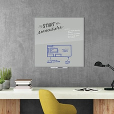 U Brands Floating Dry Erase Board