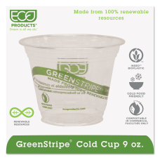Eco Products GreenStripe PLA Compostable Cold