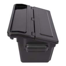 Luxor Outrigger Utility Cart Bins 9