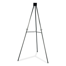 Lorell Adjustable Folding Display Easel Telescoping