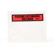 3M Top View Packing ListInvoice Enclosed