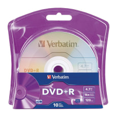 Verbatim 96942 DVD Recordable Media DVDR