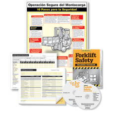 ComplyRight Forklift Training Compliance Bundle EnglishSpanish