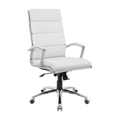 Boss Office Products CaressoftPlus Executive High