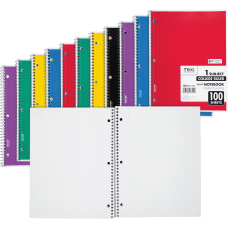 Mead One subject Spiral Notebook 100