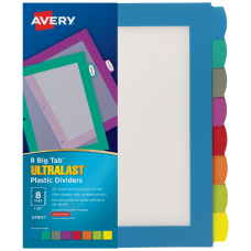 Avery Big Tab Ultralast Plastic Dividers