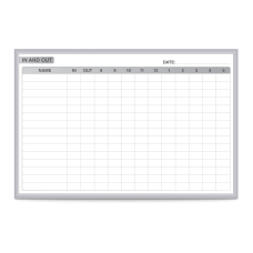Ghent Manufacturing InOut Magnetic Dry Erase