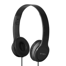 BYTECH On Ear Headphones Black BYAUOH143BK