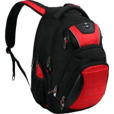 SwissDigital Circuit Antibacterial Business Backpack With