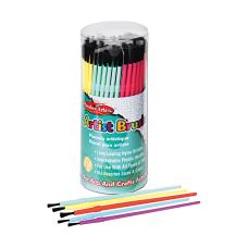 Creative Arts Classroom Brush Assortment Sizes