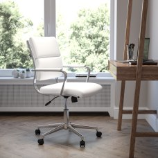 Flash Furniture LeatherSoft Mid Back Contemporary