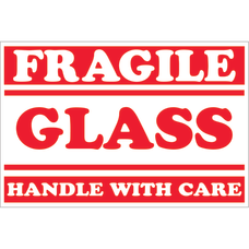 Tape Logic Preprinted Labels DL1058 Fragile