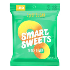 SmartSweets Peach Rings 18 Oz Pack