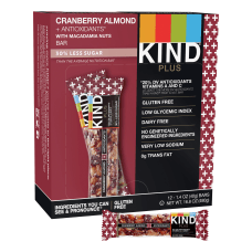 KIND Healthy Snack Bars CranberryAlmondAntioxidants 14