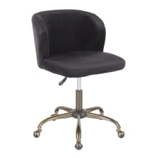 LumiSource Fran Mid Back Task Chair