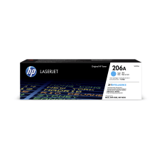HP 206A Cyan Toner Cartridge W2111A