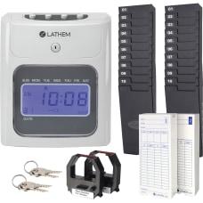 Lathem 400E Top Feed Electronic Time