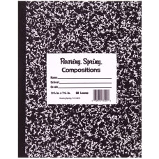 Roaring Spring Composition Notebook 8 x