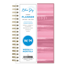 Blue Sky PP WeeklyMonthly Planner 3