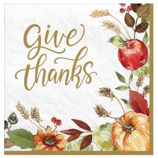 Amscan Thanksgiving Grateful Day 2 Ply